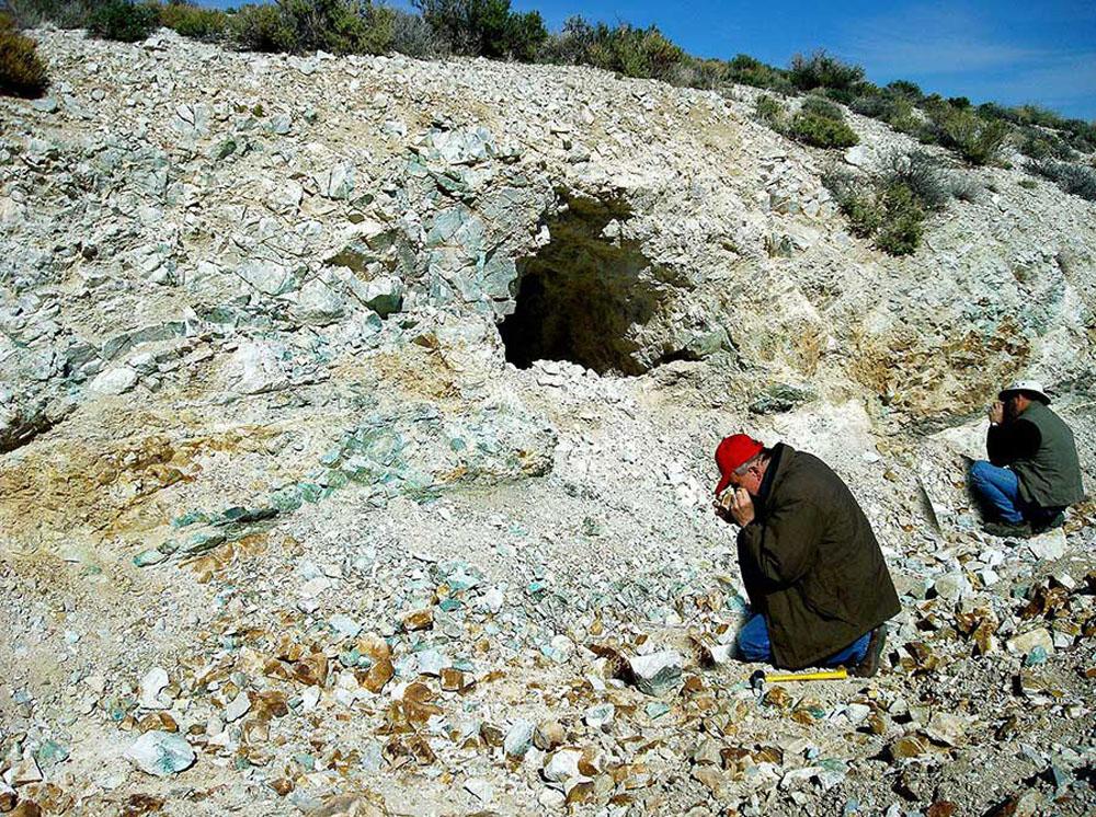 Macaurthur Yerington Nevada Copper